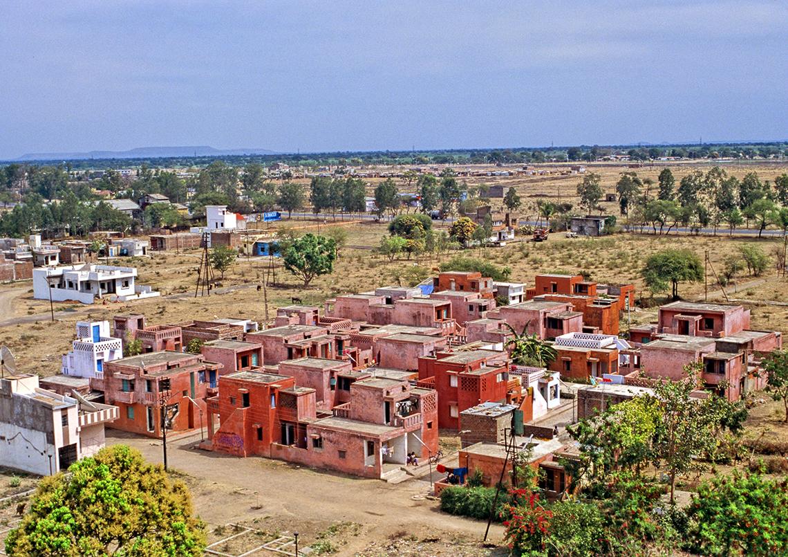 As residências de baixo custo Aranya (cortesia de VSF)